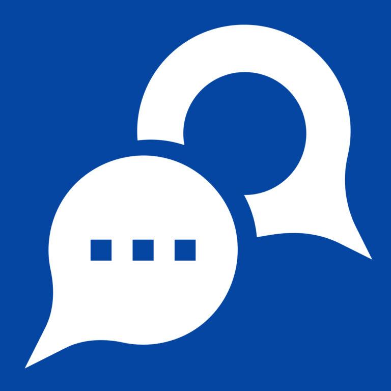 Dialogify Icon White